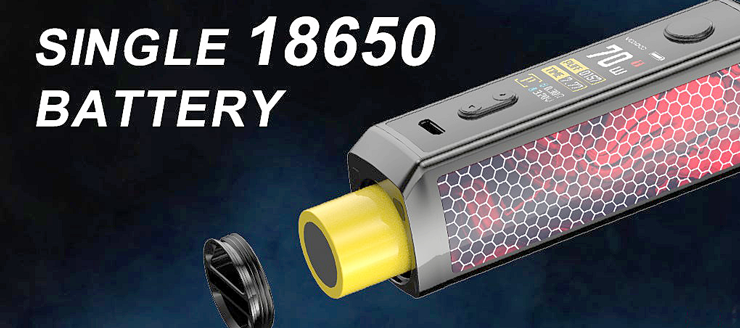 Vinci X - single battery 18650