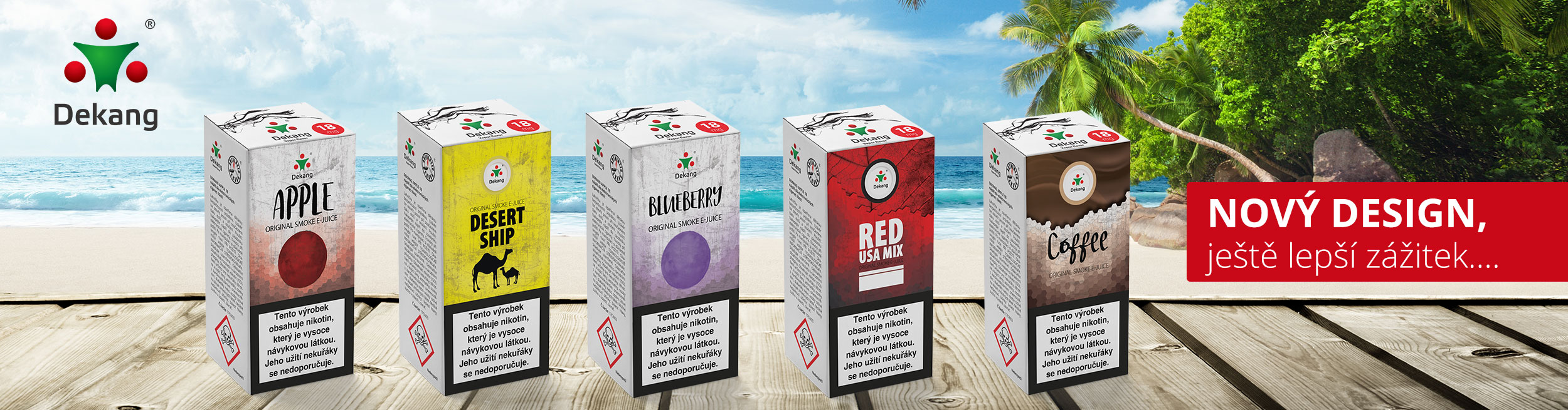 e-liquid Dekang Fifty HAPPY COLOR 10ml - 18mg
