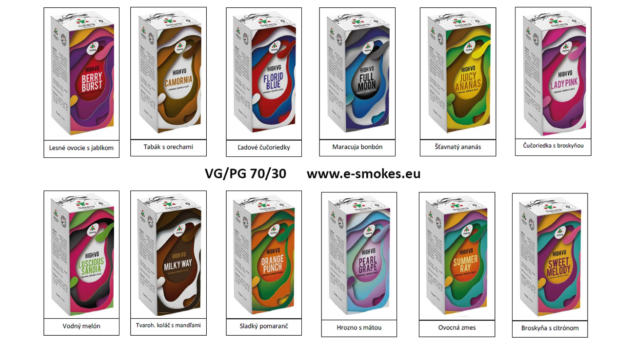 Dekang High VG 3Pack SUMMER RAY 3x10ml 0mg