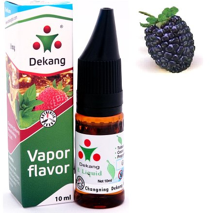 e-liquid Dekang SILVER Blackberry 10ml - 6mg (černica)