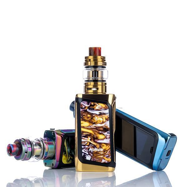 Smoktech full Kit MORPH 219W +TF Tank - Black and Prism Chrome