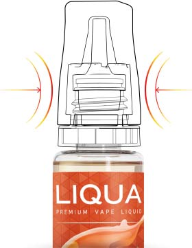 LIQUA Elements 4pack PEACH 4x10ml 3mg nikotínu