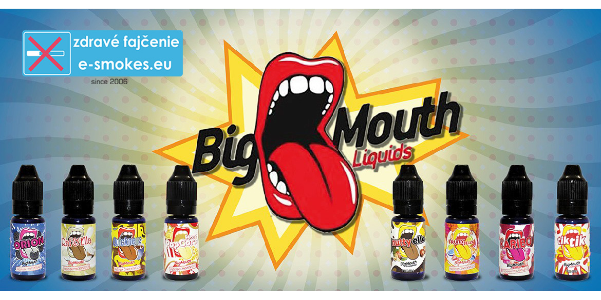 Big Mouth aróma Classical BLUEBERRY MUFFIN BUNS 10ml