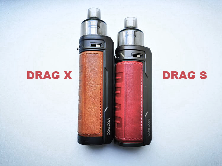 VooPoo kit DRAG X MOD POD 80W  - Bronze Knight