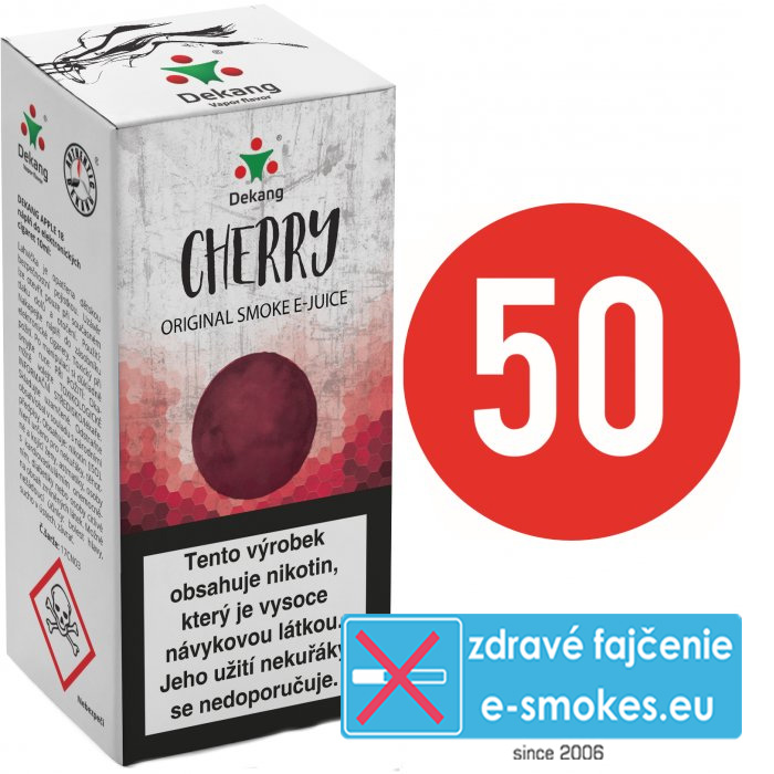 e-liquid Dekang Fifty Cherry 10ml - 0mg