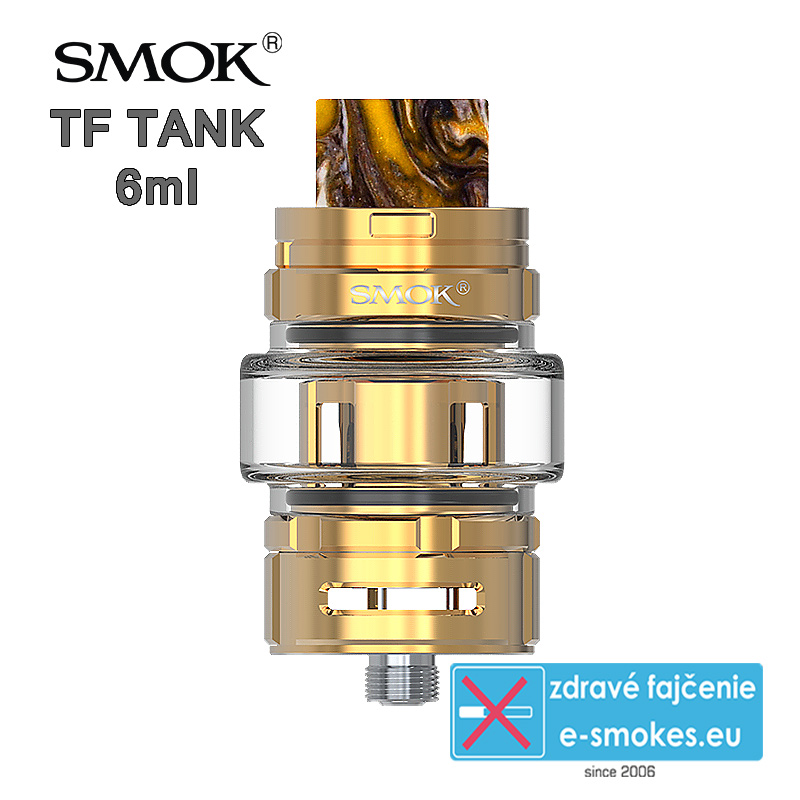 Smoktech TF TANK clearomizér 6,0ml - Gold