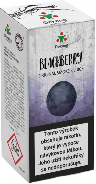 e-liquid Dekang Classic Blackberry 10ml - 3mg (černica)