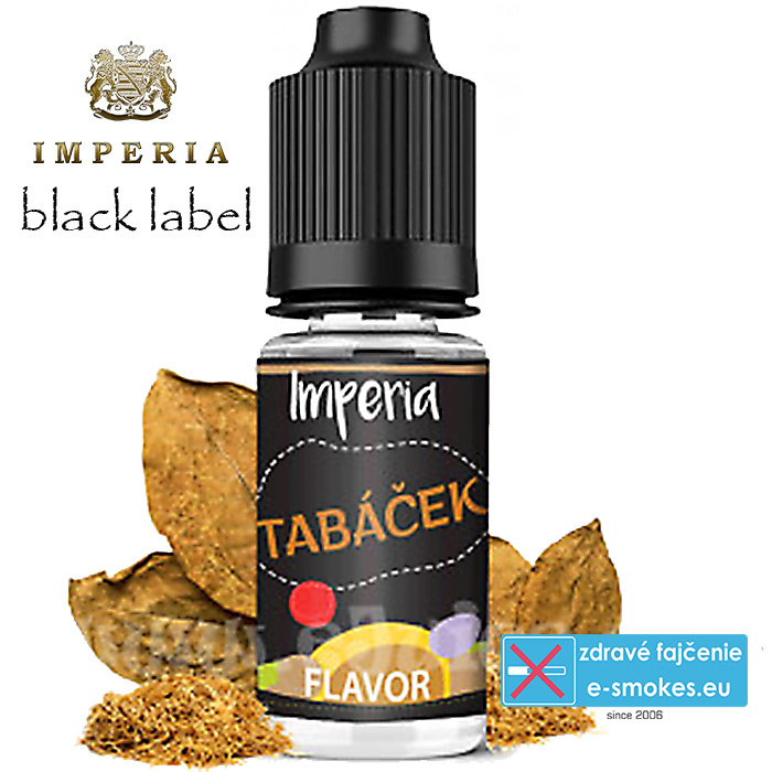 IMPERIA Black Label Tabáček - 10ml