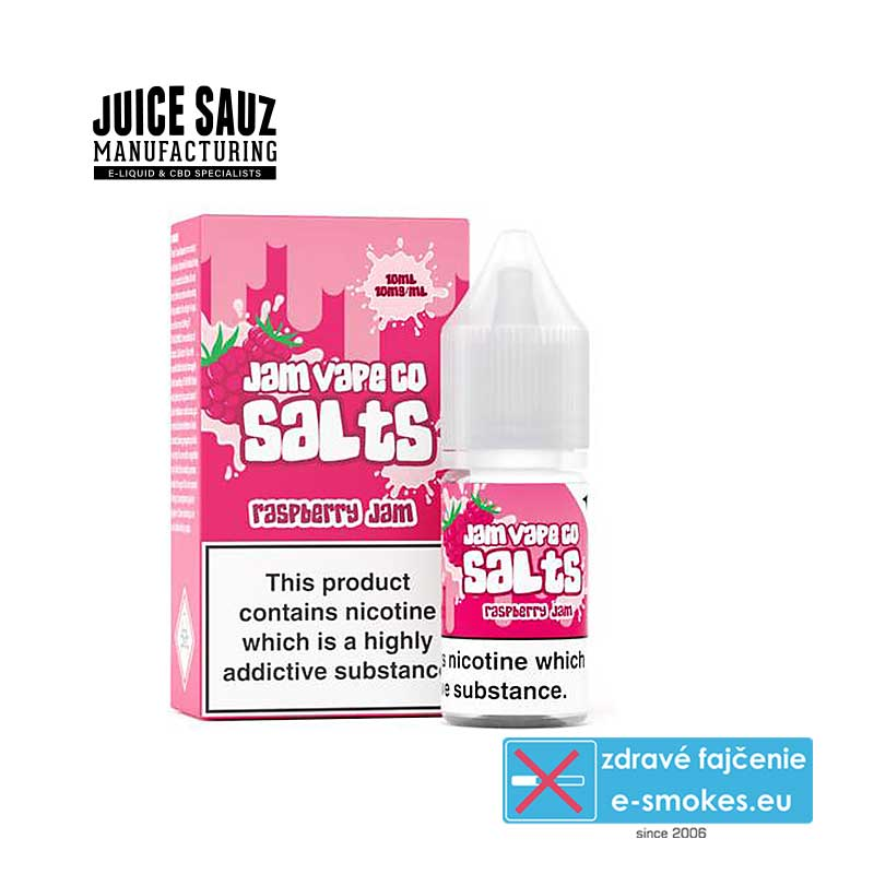Juice Sauz e-liquid  The Jam Vape Co Raspberry Jam 10ml - 10mg