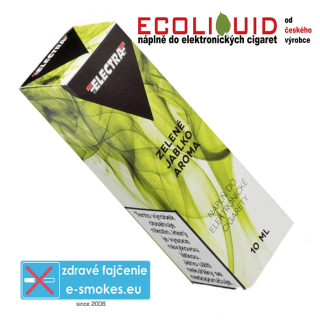 e-liquid Electra GREEN APPLE (ZELENÉ JABLKO) 10ml 18mg