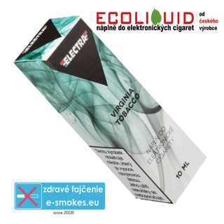 e-liquid Electra Virginia tobacco 10ml 18mg