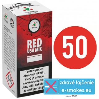 e-liquid Dekang Fifty RED USA MIX 10ml - 11mg
