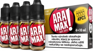 ARAMAX 4Pack Cigar Tobacco 4x10ml 18mg
