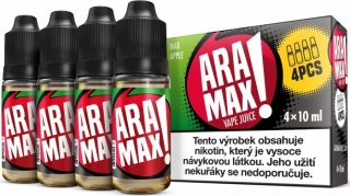 ARAMAX 4Pack Max Apple 4x10ml 18mg