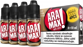 ARAMAX 4Pack Max Cream Dessert 4x10ml 18mg