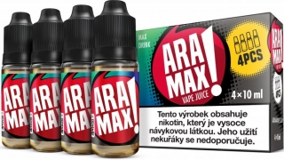 ARAMAX 4Pack Max Drink 4x10ml 18mg