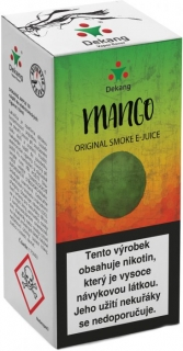 e-liquid Dekang Mango 10ml - 3mg (mango)