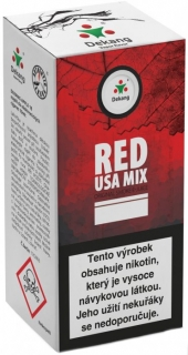 e-liquid Dekang RED USA MIX 10ml - 3mg