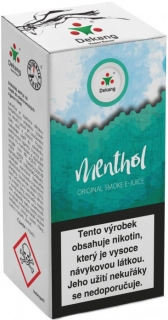 e-liquid Dekang Menthol 10ml - 3mg (Mentol)