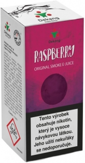 e-liquid Dekang Raspberry 10ml - 3mg (Malina)