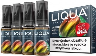 LIQUA Mix SHISHA MIX 4pack 10ml 6mg