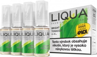 LIQUA Elements 4pack BRIGHT TOBACCO 4x10ml 6mg nikotínu