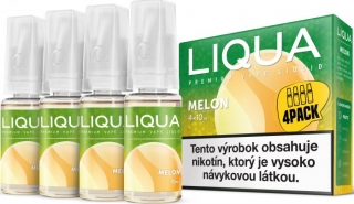 LIQUA Elements 4pack MELON 4x10ml 6mg nikotínu