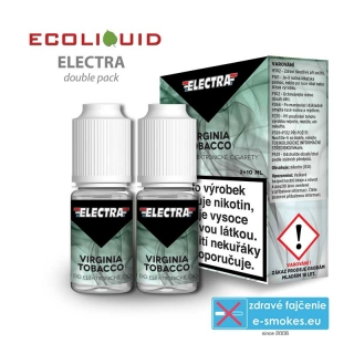 e-liquid Electra 2pack Virginia Tobacco 2x10ml 6mg