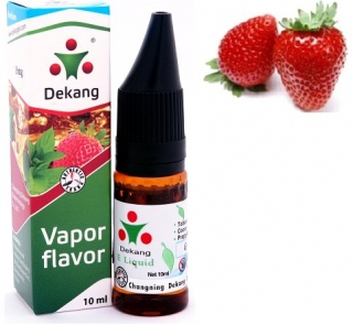 e-liquid Dekang SILVER Strawberry 10ml - 16mg (Jahoda)