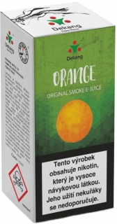 e-liquid Dekang Orange (pomaranč) 10ml - 16mg