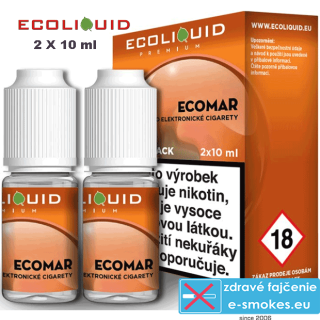 Ecoliquid e-liquid ECOMAR 2 X 10ml 0mg