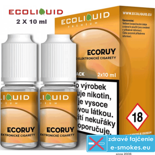 Ecoliquid e-liquid ECORUY 2 X 10ml 0mg