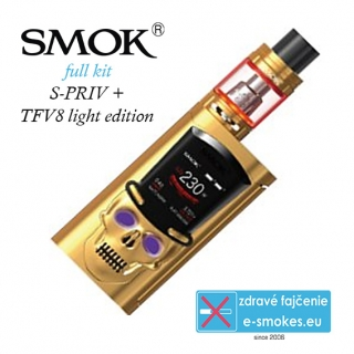 Smoktech full kit S-PRIV TC225W - zlatá