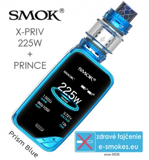 Smoktech full kit X-PRIV s TFV12 Prince - prism blue