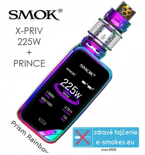 Smoktech full kit X-PRIV s TFV12 Prince - prism rainbow