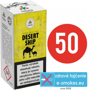e-liquid Dekang Fifty DESERT SHIP 10ml - 16mg