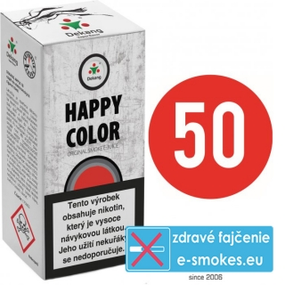 e-liquid Dekang Fifty HAPPY COLOR 10ml - 16mg