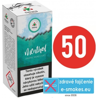 e-liquid Dekang fifty MENTHOL 10ml - 11mg