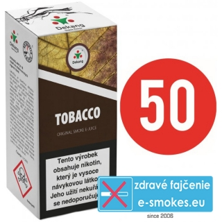 e-liquid Dekang fifty TOBACCO 10ml - 11mg
