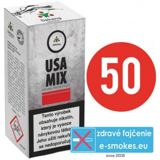 e-liquid Dekang Fifty USA MIX 10ml - 16mg
