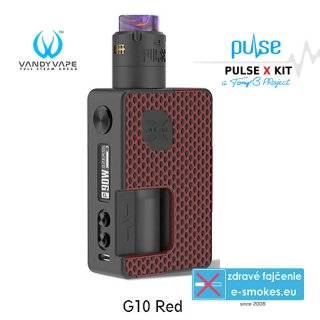 Vandy Vape Pulse X Kit Special Edition G10 Red