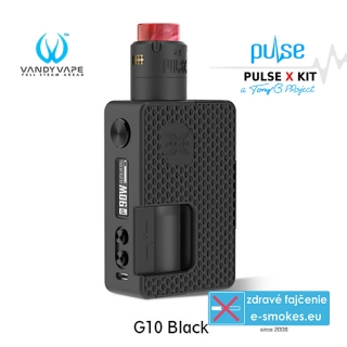 Vandy Vape Pulse X Kit Special Edition G10 Black