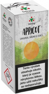 e-liquid Dekang APRICOT 10ml 18mg