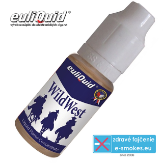 EULIQUID príchuť Wild West Tabák 10ml