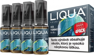 LIQUA Mix ICE TOBACCO 4pack 10ml 3mg