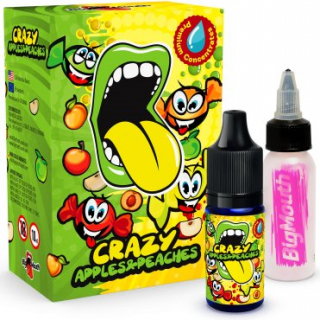 Big Mouth aróma Classical CRAZY APPLES AND PEACHES 10ml