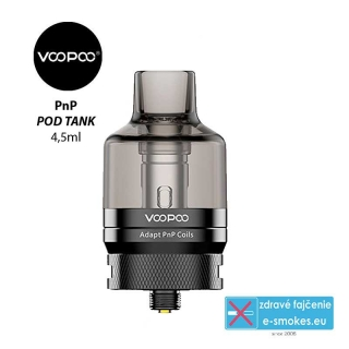 VOOPOO PnP Pod Tank Clearomizer 4,5ml Black