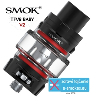 SmokTech TFV8 BABY V2 clearomizer 5ml - čierny