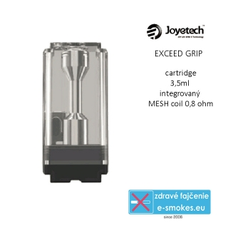 Joyetech Exceed Grip POD cartridge 3,5ml čierna