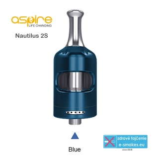 aSpire Nautilus 2S clearomizer 2.6 ml - Blue